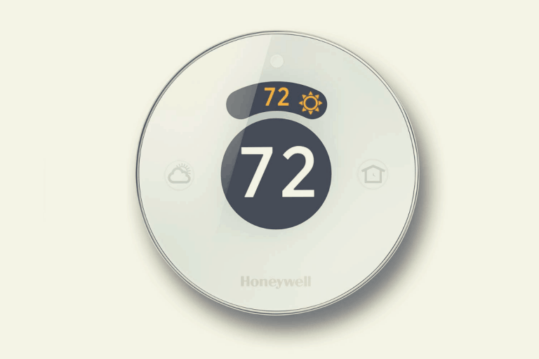 Honeywell Lyric Round thermostat