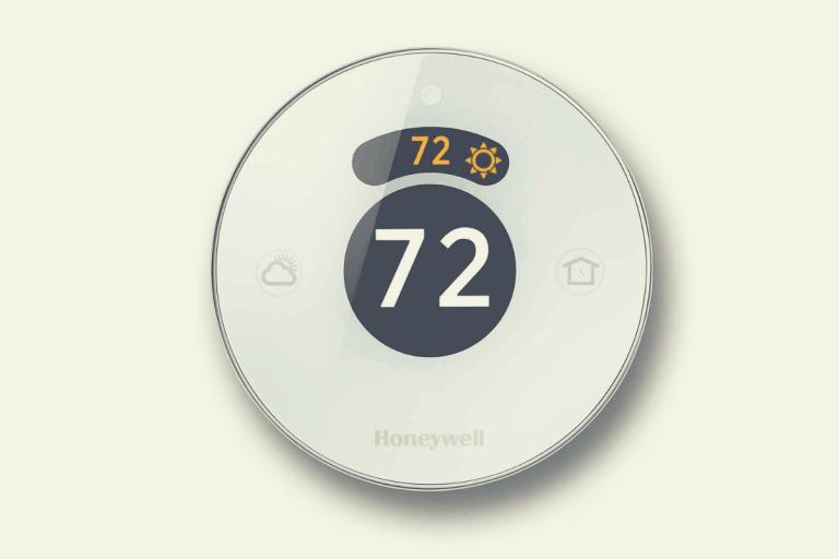 Honeywell Lyric Round thermostat