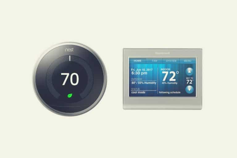 Nest 3 generation vs Honeywell RTH9580WF