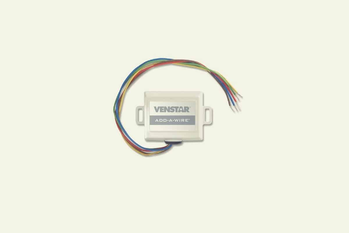 No C-Wire? Consider adding a wire with Venstar Add-a-Wire on
